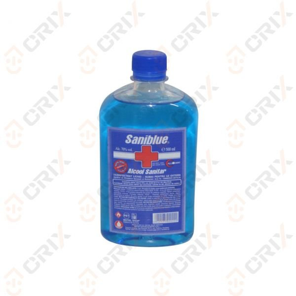 Saniblue Alcool sanitar (spirt) 70% vol. 500 ml